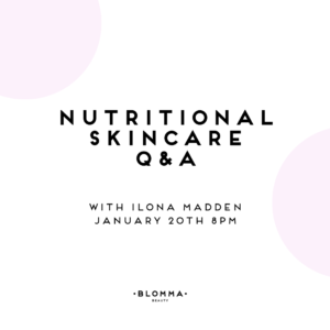 Skincare and Food