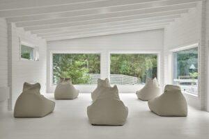 Powerscourt springs relaxing yoga indoor